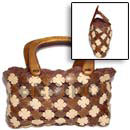 Natural Coco Flower Bag