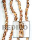 Natural Palmwood Twist 10x15 In Beads BFJ031WB Shell Beads Shell Jewelry Wood Beads