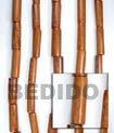 Natural Bayong Tube Wood Beads