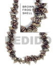 Frog Shell Beads In Strands Or Necklace
