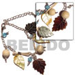 Natural Dangling mother of pearl black Tab black BFJ792BR Shell Beads Shell Jewelry Shell Bracelets