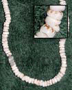 Natural Puka Shells Tiger In Beads BFJ003PK Shell Beads Shell Jewelry Puka Shell Necklace