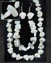 Natural Jewelry Set Troca Shell Manol Design